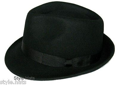 Online Style Hats Panama UK | Buy Winter Hats | Black Trilby